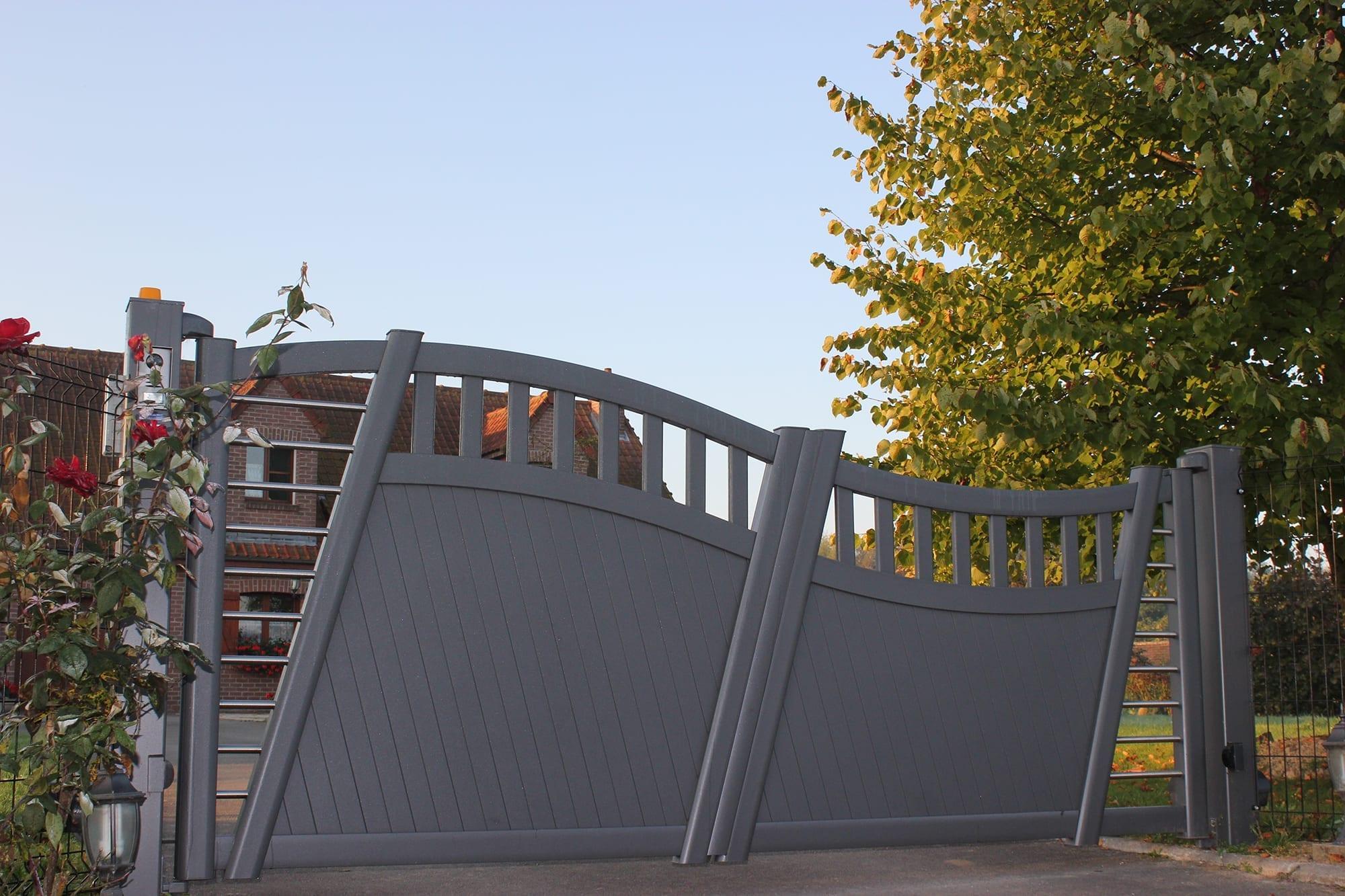 k materra scala tore und z une aus aluminium k mmerling. Black Bedroom Furniture Sets. Home Design Ideas