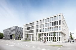 Eastsite two office building in Mannheim