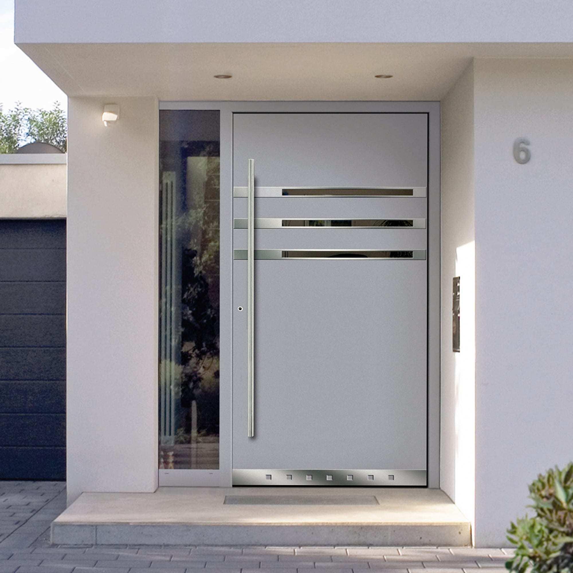 K mmerling 76 residential door aluclip zero inward opening - Modelos de puertas de aluminio ...