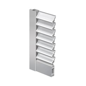 Folding shutter Elba with movable slats