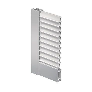 Folding shutter Elba with fixed slats