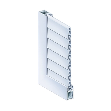 Hinged shutter Naxis universal slat ventilation tight