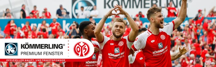 Kömmerling –  main sponsor del  FSV Mainz 05