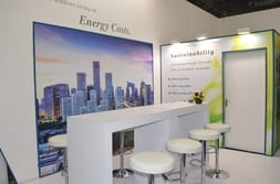 ZAK INDIA 2014 – Seats at the exhibition stand for advisory talks