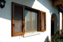Folding shutter Elba of aluminium