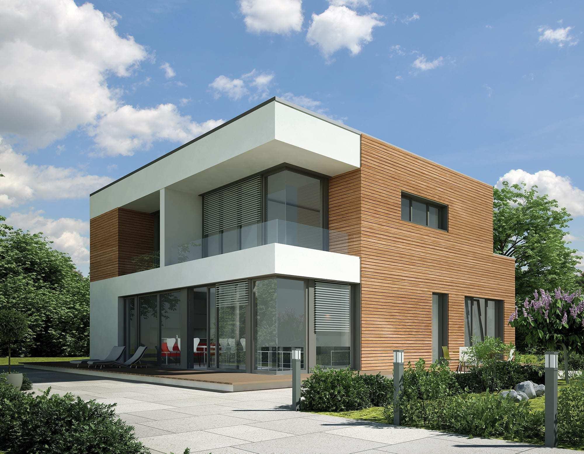 Haus bauen modern holz  KömaPan – Nut- und Federprofil | KÖMMERLING