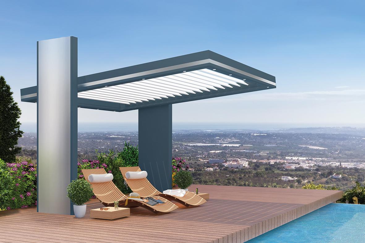 neu im programm pergola set mit 16 modellvarianten k mmerling. Black Bedroom Furniture Sets. Home Design Ideas