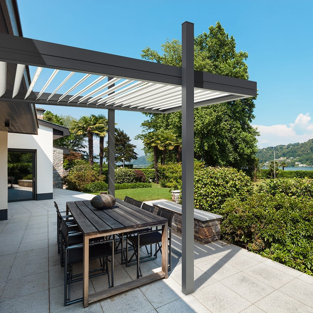 Koemmerling Pergola on House Brochure Design